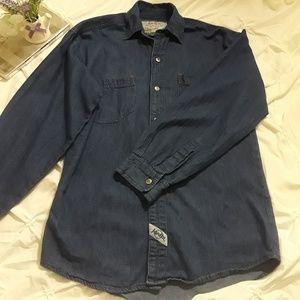 Jordin Denim blouse long sleeves size 12